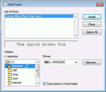 how to add fonts on windows ten